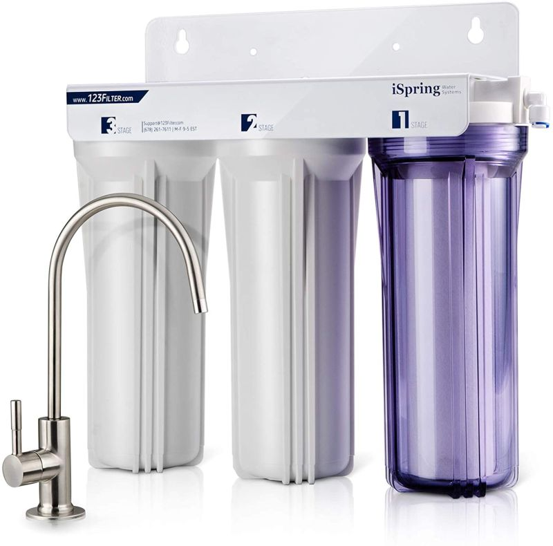 iSpring-US31-3-Stage-Under-Sink-High-Capacity-Tankless-Drinking-Water-Filtration-System