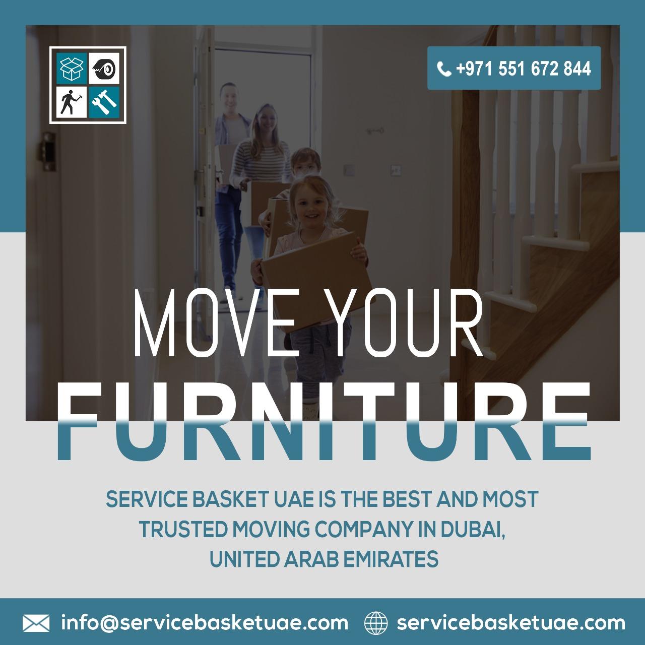 1 service basket uae movers